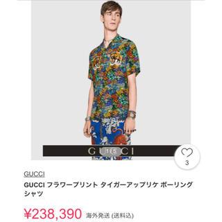 グッチ(Gucci)のgucci 17ss フローラル柄ボーリングシャツ(シャツ)