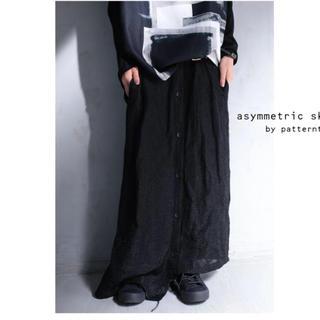 アンティカ(antiqua)の専用☆彡antiqua アンティカ ムード漂うアシメロングスカート(ロングスカート)