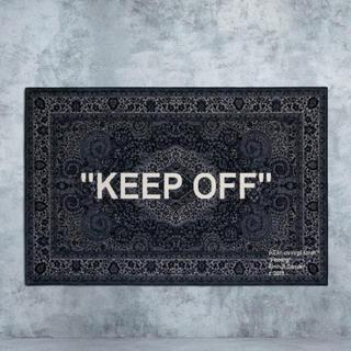 イケア(IKEA)の 新品 IKEA × Virgil Abloh  off white ラグマット(ラグ)