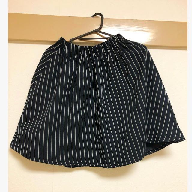 LOWRYS FARM(ローリーズファーム)のLOWRYS FARM ストライプ柄スカート レディースのスカート(ミニスカート)の商品写真