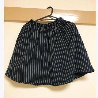 ローリーズファーム(LOWRYS FARM)のLOWRYS FARM ストライプ柄スカート(ミニスカート)