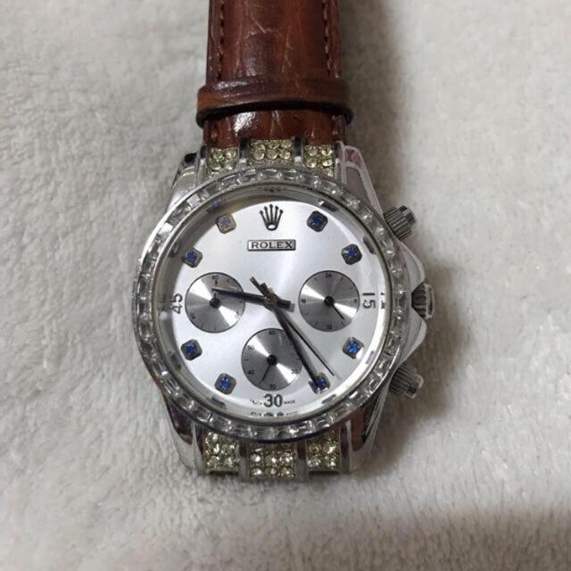 cheap for discount 0b005 0b016 ROLEX - メンズ 腕時計 クロコダイルの通販 by U's shop ...