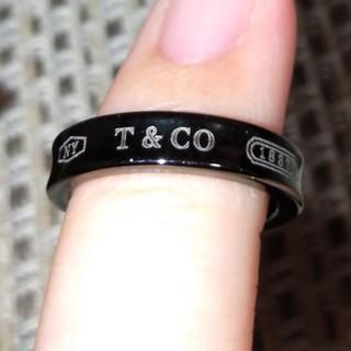 ティファニー(Tiffany & Co.)のTiffany& Co. 1837 ナローチタンリング(リング(指輪))