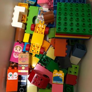 バンダイ(BANDAI)のブロックラボ アンパンマン はじめてのブロックワゴン(積み木/ブロック)
