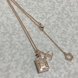 6485a392f377 シャネル(CHANEL)のCHANEL ノベルティ シャネル 香水ボトル ココマーク ネックレス(ネックレス)