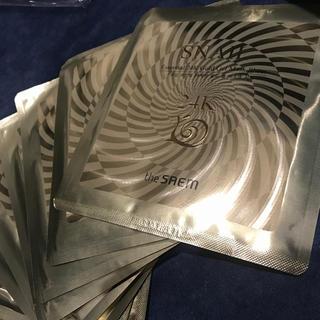 ザセム(the saem)の24K gold SNAIL カタツムリパック the SAEM 6枚(パック/フェイスマスク)