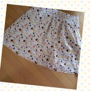 アリスバーリー(Aylesbury)の☆☆アリスバーリー 花柄スカート(ひざ丈スカート)