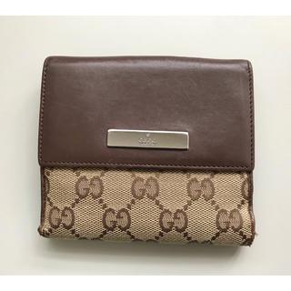 6dc961acebe5 グッチ(Gucci)の正規品 GUCCI グッチ Wホック 財布 男女(財布)