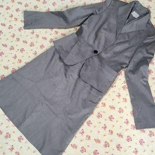ジユウク(自由区)の 自由区 スカートスーツ 上38下36 W68 洗濯可 春夏(スーツ)
