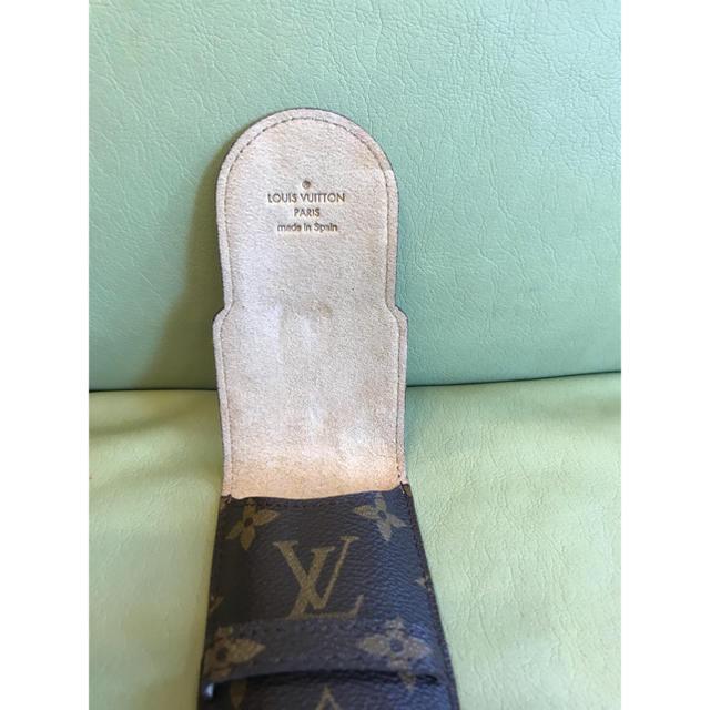 LOUIS VUITTON(ルイヴィトン)のルイヴィトンペンケース インテリア/住まい/日用品の文房具(ペンケース/筆箱)の商品写真