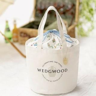 ウェッジウッド(WEDGWOOD)のウェッジウッド ワイルドストロベリーバッグ チャーム付き(ハンドバッグ)