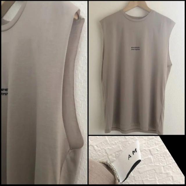 Ameri VINTAGE(アメリヴィンテージ)のAmeri VINTAGE テンセルラフタンクトップ アメリ ヴィンテージ  レディースのトップス(Tシャツ(半袖/袖なし))の商品写真