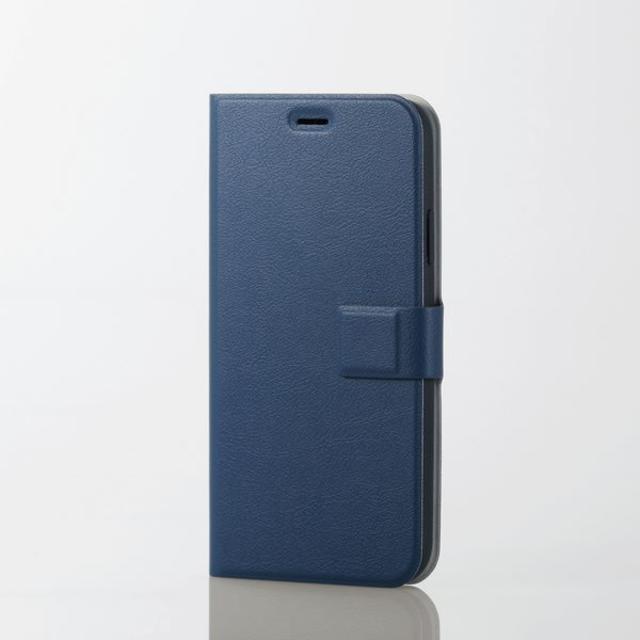 ELECOM - iPhoneXR用薄型ソフトレザーカバー ネイビーの通販 by ヒッキー9543's shop|エレコムならラクマ