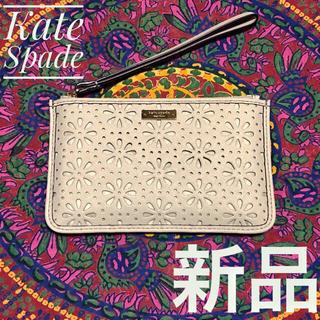 ケイトスペードニューヨーク(kate spade new york)のKate Spade ケイトスペード 本革 カードケース ポーチ 財布(ポーチ)
