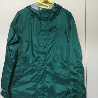 GU - 緑 グリーン ナイロンジャケット ウィンドブレイカー GU