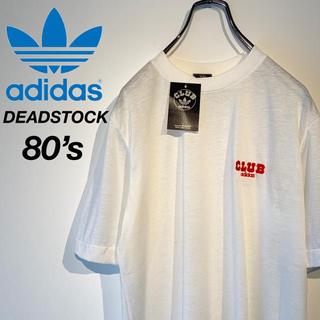 アディダス(adidas)の【DEADSTOCK 80s】クラブ アディダス ワンポイントロゴ Tシャツ(Tシャツ/カットソー(半袖/袖なし))