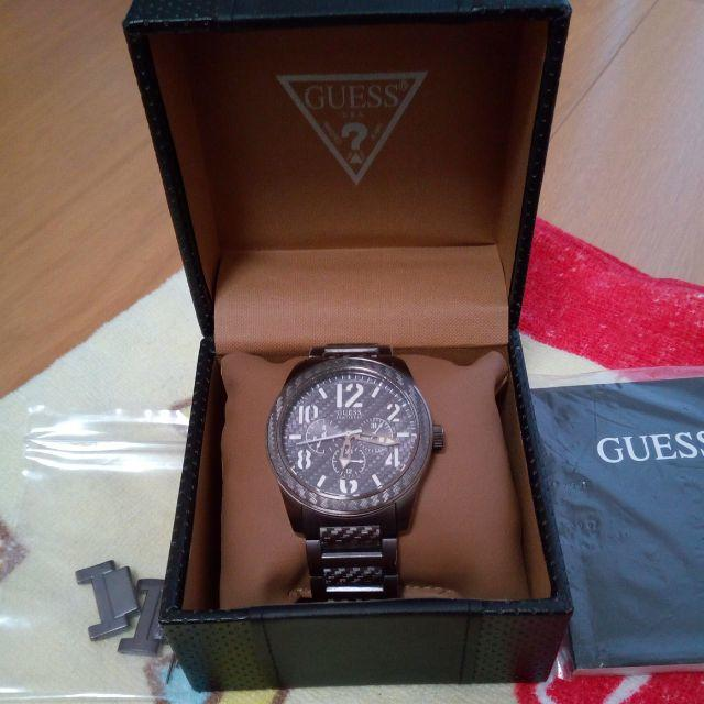 GUESS - Guess 腕時計 Punched Watch ダークグレーの通販 by GT2530's shop|ゲスならラクマ