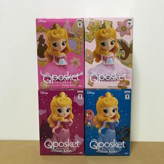 バンプレスト(BANPRESTO)のQposket ディズニー オーロラ姫 4体セット!(アニメ/ゲーム)