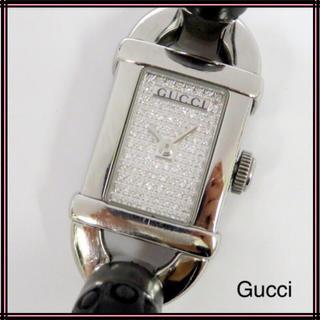 ee058ffcd2f0 グッチ(Gucci)のGUCCI グッチ 6800L文字盤フルダイヤバンブーブレスレディースウォッチ(