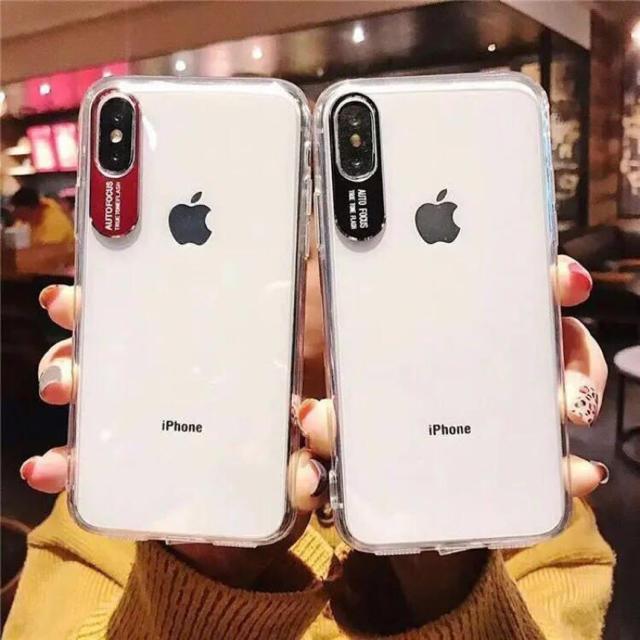 iphone 7 プラス ケース - iPhoneケース クリア おしゃれ シルバーの通販 by ブラウンコニー 12/28〜1/5発送休|ラクマ