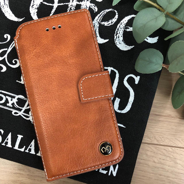 iphone8 ケース 角 、 本牛革ケース☆iPhone7.8.x.xs.XR.xs max手帳ケース( ^ωの通販 by モンキースター's shop|ラクマ