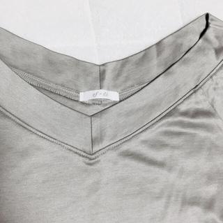 エフデ(ef-de)の幸海様専用🍀綺麗なシルエットのフレンチ袖Tシャツ(Tシャツ(半袖/袖なし))