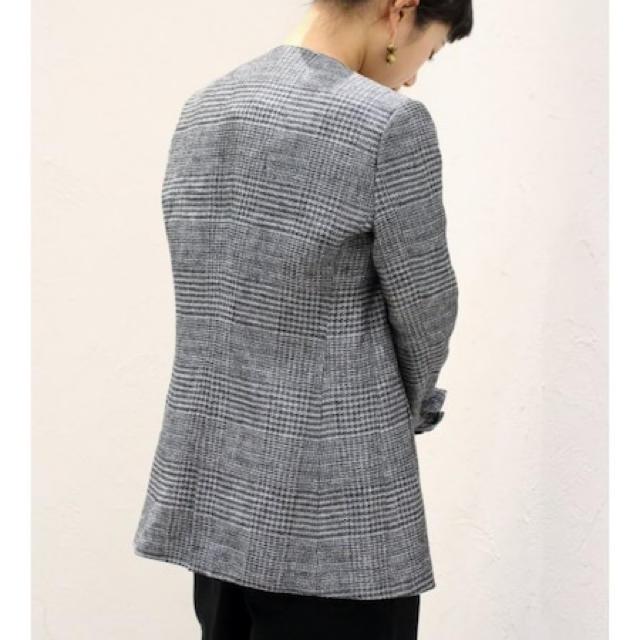 Plage(プラージュ)のplage 18SS グレンチェックジャケット レディースのジャケット/アウター(ノーカラージャケット)の商品写真
