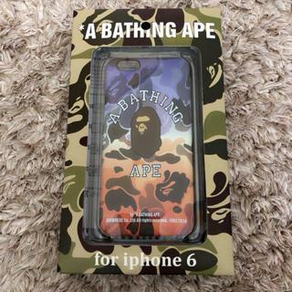 アベイシングエイプ(A BATHING APE)のA BATHING APE スマホケース(iPhoneケース)