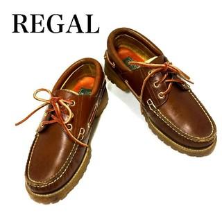 リーガル(REGAL)のREGAL  COUNTRY☆  デッキシューズ!24.5センチ リーガル(デッキシューズ)