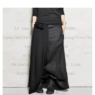 アンティカ(antiqua)のantiqua☆モードデザインロングスカート(ロングスカート)