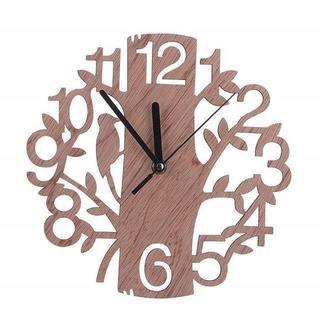 かわいい 木製時計 掛け時計 243(掛時計/柱時計)