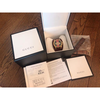 24c03efacebb グッチ(Gucci)のgucci グッチ ビー 蜂 watch 腕時計 テテ着用(腕時計(