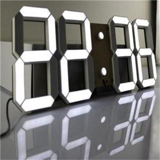 限定1台★ LEDデジタル時計 3Dデザイン 287(掛時計/柱時計)