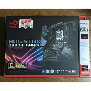 エイスース(ASUS)の新品未使用 保証あり ASUS ROG STRIX Z390F GAMING(PCパーツ)