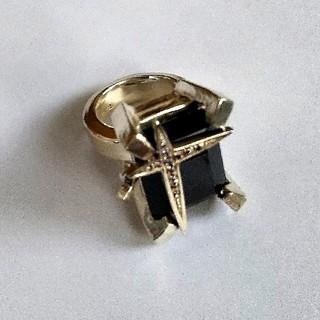 イーエム(e.m.)のe.m. ブラックジルコニアリング 9号(リング(指輪))