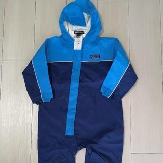 パタゴニア(patagonia)の未使用!パタゴニアのジャンプスーツ 12~18m☆75~80cmベビーキッズ(カバーオール)