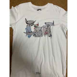 アベイシングエイプ(A BATHING APE)の激レアXLサイズ!FUTURE×UNIQLOコラボTシャツ白(Tシャツ/カットソー(半袖/袖なし))