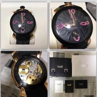 timeless design b18aa dba92 ガガミラノ腕時計・世界49本限定レア入手困難