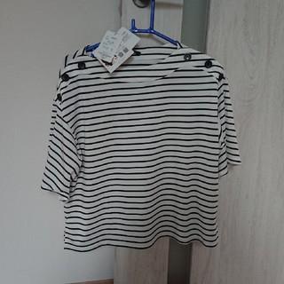 シマムラ(しまむら)のMUMUさん コラボ しまむら トップス(Tシャツ(半袖/袖なし))