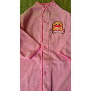 アンパンマン(アンパンマン)のアンパンマン フリース 長袖 90cm ピンク バック付(パジャマ)