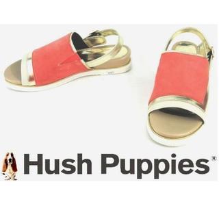 0216f436c99aab ハッシュパピー(Hush Puppies)の23.5cm✨フラットサンダル 8013/23.5(