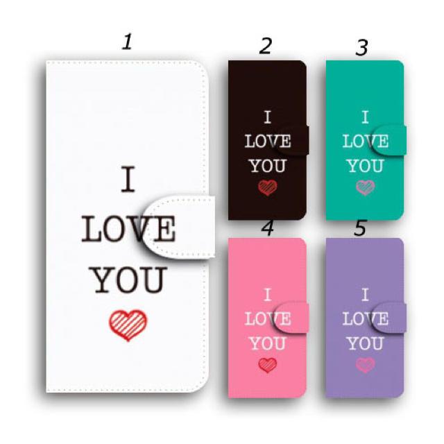 グッチ アイフォーンxs ケース 財布型 / iPhoneケース 手帳型 ハート 英字 I LOVE YOU スマホカバーの通販 by ララ 's shop|ラクマ