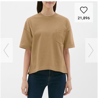ジーユー(GU)のGUヘビーウェイトT(Tシャツ(半袖/袖なし))
