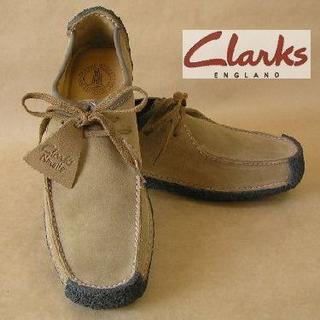 クラークス(Clarks)のClarksクラークスナタリーOakwood本革UK7.0≒25.5cm正規N(ブーツ)