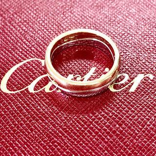 カルティエ(Cartier)のカルティエ二色ゴールド ダブル リング #50(リング(指輪))