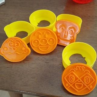 アンパンマン(アンパンマン)のアンパンマン 型抜きセット(調理道具/製菓道具)
