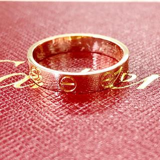 カルティエ(Cartier)のカルティエピンクゴールドリング#50(リング(指輪))
