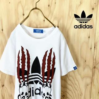 アディダス(adidas)の【希少】adidas originals レオパード ビッグロゴ tシャツ(Tシャツ/カットソー(半袖/袖なし))