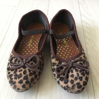 グローバルワーク(GLOBAL WORK)のグローバルワーク 女の子 バレエシューズ 15センチ 靴☆(バレエシューズ)