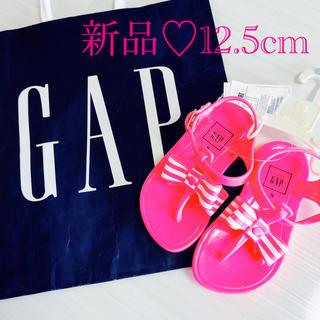 babyGAP - babygap サンダル 新品未使用 12.5cm リボン